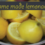 How to make perfect homemade lemonade - the best for a 4th of July get together! Subscribe to read about our lemonade ice cubes & mix ins on the 30th and 3rd!