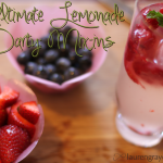 Mix fruits into your lemonade to give it that finished look, and serve it to all your friends and family at your next party - perfect for 4th of July tomorrow!