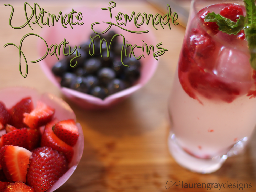 Lemonade Mix Ins Create the Ultimate Drink