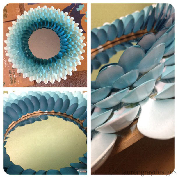 Spoon flower mirror @ uncommonflock.com