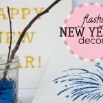 Flashy New Years Decor