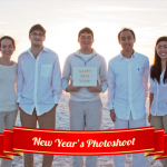 New Year's Photoshoot: tips and tricks for taking group photos