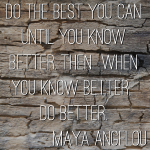 Wisdom Wednesday: Maya Angelou