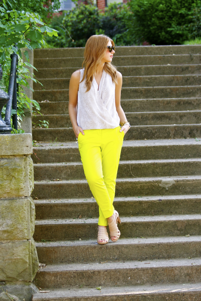 Trend Tuesdays: Colorful Pants & How To Wear Them