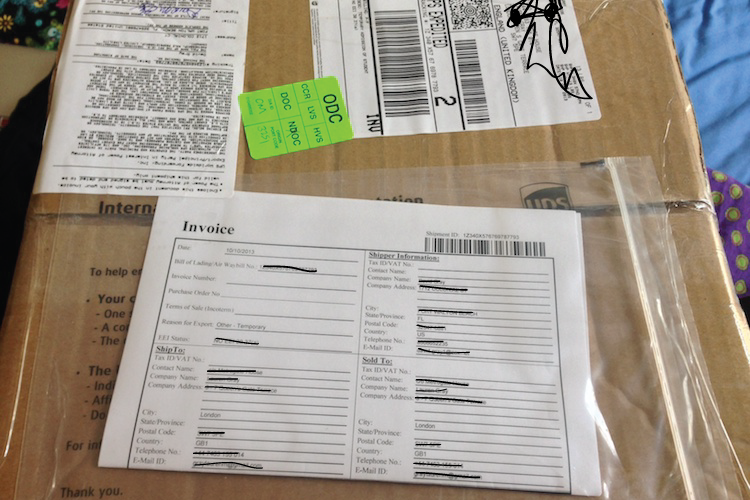 Shipping Packages from the US to the UK