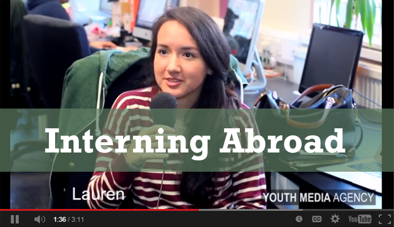 (TIWIKBSA) Week 15: Interning Abroad