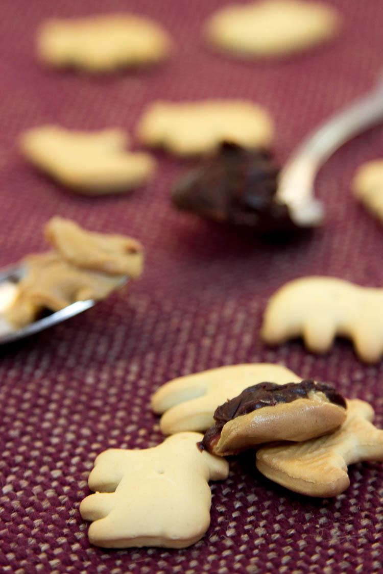 Peanut Butter Chocolate Animal Crackers
