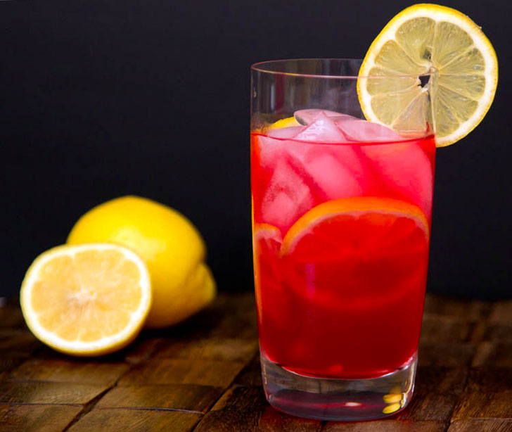 Raspberry Pink Lemonade