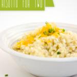 Recipe: Cheesy Risotto for Two