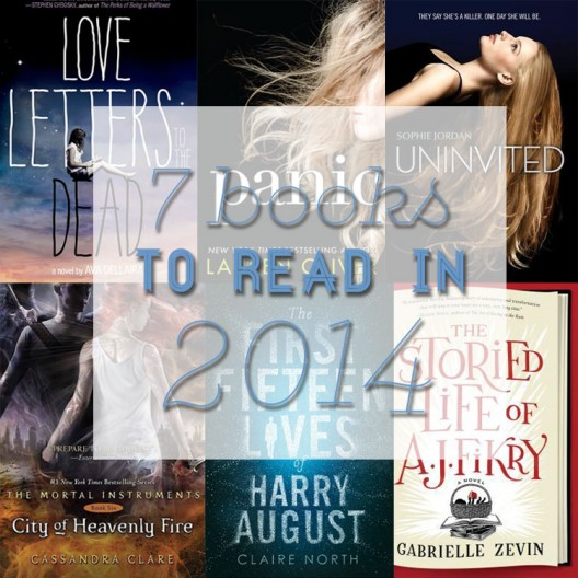 Book Day: 7 Books to Read in 2014