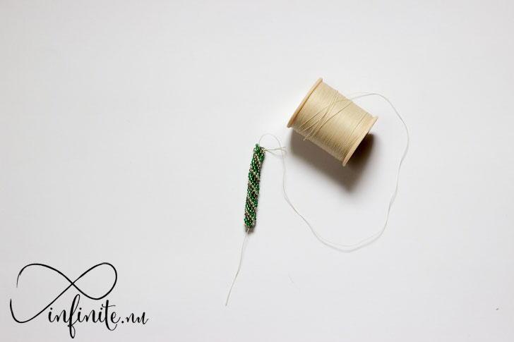 Small Seed Bead Crochet Rope | infinite.nu