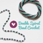 Bead Crochet: Double Spiral Pattern