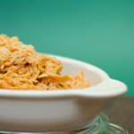 Slow Cooker Shredded Buffalo Chicken